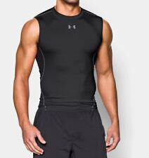 Under Armour Maglia senza maniche UA HeatGear Armour Compression uomo Nero