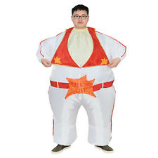 Elvis Presley Rock Roll Inflatable Costume Cosplay Halloween Stage Party Adult