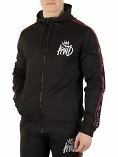 Kings Will Dream Men's Roxberry Poly Tape Zip Hoodie, Black