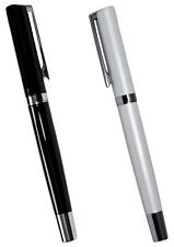 Metal Rollerball Writing Pen Chrome Business Style Ballad Roller Ball Premium