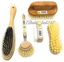 Elliott Wooden Dish Brush With Tampico Fibres Wooden Scrubbing and Nail Brush.