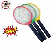 4 OR1 BUG ZAPPER RACKET ELECTRONIC MOSQUITO FLY SWATTER INSECT ELECTRIC HANDHELD