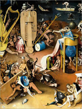 Cuadro sobre lienzo Garden of Earthly Delights, Hell (detail) - Hieronymus Bosch