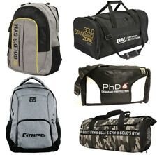 Sports Gym Training Fitness Travel Kit Duffel Backpacks and Food Prep Bags
