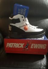 MEN'S PATRICK EWING ATHLETICS 33 HI BLACK/WHITE-SILVER 1EW90112-003 SZ 7-12 DS