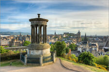 Cuadro de madera Edinburgh view from Calton Hill - Michael Valjak