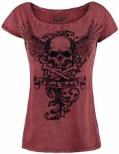 Rock Rebel by EMP All In The Mind Maglia donna bordeaux