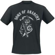 Sons Of Anarchy Reaper Logo T-Shirt nero