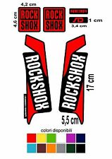 Kit ADESIVI rock shox modello 2014/2015 forcella mountain bike reba sid