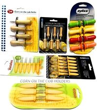 Corn On The Cob Corn Holder Fork Stainless Steel Choice Various Brand and Style.