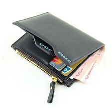 Leather Bifold Wallet Credit Card Holder Coin Purse Pockets Clutch -Men's