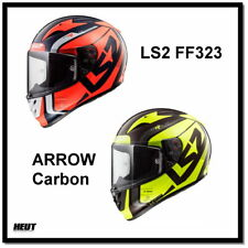 LS2 Racing Motorrad Helm Integralhelm FF323 ARROW C EVO STING Carbon
