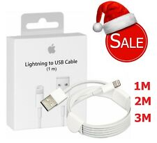 Extra Long 1M 2M 3M Sync Charger Lightning USB Data Cable For iPhone 7 6 5 iPad