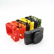Soft Silicone Case body Cover for Sony RX100III RX100IV RX100V camera
