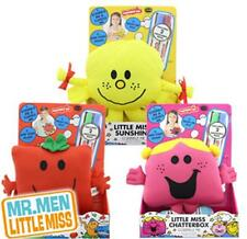 Mr Men & Little Miss Scribble Me Soft Toy Draw Doodle 2 washable markers pens