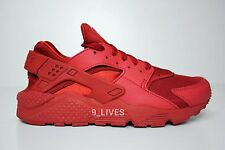 Nike Air Huarache size 7-12 Triple Red 318429-660 october varsity nm