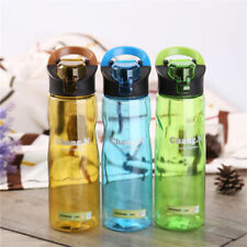 Portable Water Bottle Sports GYM Drinks Healthy Fitness Hydration Hiking Cycling