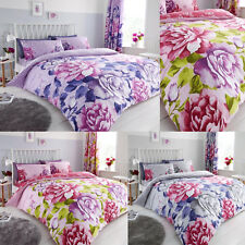 Latest DesignAubrey Duvet Cover Bedding Sets + Pillowcases / Fitted Sheets