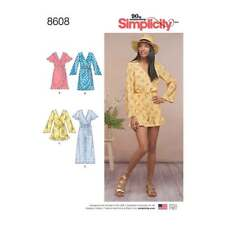 Womens Jumpsuit and Dress   Simplicity Sewing Pattern 8608