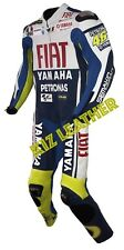 Fiat Yamaha / VR Motorcycle / Motorbike Racing Leather Suit in Cowhide Leather