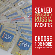PANINI different sealed packets WORLD CUP 2018 RUSSIA WC 18   choose your packet