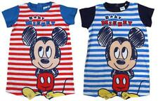 Boys Playsuit Baby Romper Disney Mickey Mouse Short Outfit 6 to 24 Months