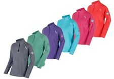 Regatta Montes Womens Soft Lightweight Half Zip Microfleece Jacket Multi