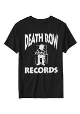 Death Row Records - Enregistrement Étiquette Logo - T-Shirt Officiel Homme
