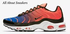 "Nike Air Max Plus ""Total Crimson/Racer Blue/Whit"" Men's  Limited Stock All Sizes"