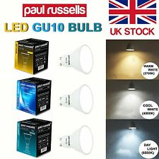 5 10 20 Pack LED GU10 Spot Light Bulb 3W 4W 5W (25W 40W 50W Equiv))