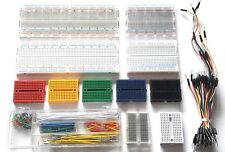Solderless Breadboard Prototype 65/140pc Jump Cable Wires Arduino Raspberry PI