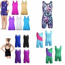 Girls Child Kids Ballet Dance Leotard Gymnastics Bodysuit Dancewear Clothes