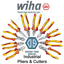 Wiha VDE Industrial Electric Cable Cutter Pliers Snips 1000v Needle Nose Dynamic
