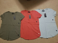 NWT Abercrombie & Fitch Icon V Neck Tee 6 Colors S, M or L