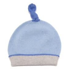 6025V cuffia bimbo BABY T. neonato light blue hat baby boy