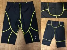 Cycling Shorts with Back Zip Pocket Ideal for Running Gym Exercise Tight Fitting