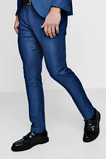 Boohoo Skinny Fit Suit Trousers per Uomo