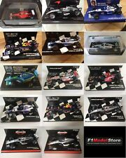 Choice of Formula One F1 Model Diecast 1:43 Cars Minichamps Spark Hotwheels LANG