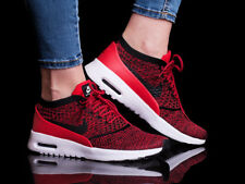 Nike Air Max Thea Ultra Flyknit CHAUSSURES POUR FEMMES BASKETS ROUGE de sport