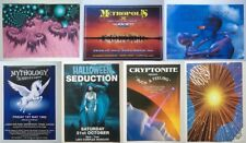 Choice of Vintage Rave / Oldskool Dance Party Flyers from the 1990's Have a L@@K