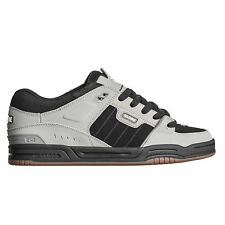 Globe Fusion Skate Shoes Trainers Drizzle Grey Black