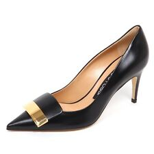 E4730 decollete donna black SERGIO ROSSI sr1 scarpe shoe woman