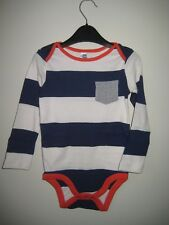 NEW EX Baby Boden MONO Jersey Breton stripe top 2-3 AÑOS 2 Colour MANERAS