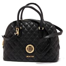7446V borsa donna LOVE MOSCHINO ecopelle trapuntata black eco leather bag woman
