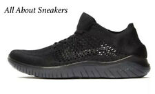"Nike Free RN Flyknit 2018 ""Black/Anthracite"" Men's Trainer Limited Stock"