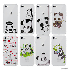 Panda Funda / para Iphone 5 / Se / 6/7/8 / Plus Samsung Galaxy S6/ S7/ Edge / S8