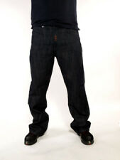 Rocawear uomo blu scuro papertrail Jeans Urban Club Time Is Wear HIP HOP SOLDI