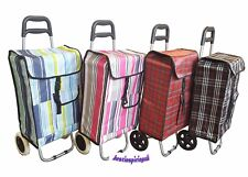 EASY STORAGE SPLASHPROOF DURABLE SHOPPING TROLLEY VARIOUS PATTERNS