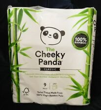 The Cheeky Panda 100% Bamboo Toilet Paper Tissue Roll sustainable and renewable