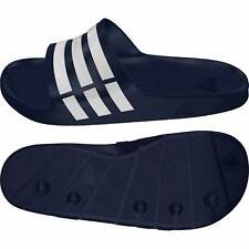 wholesale dealer 6fee2 f670c Adidas Mens Duramo Slide (Navy)